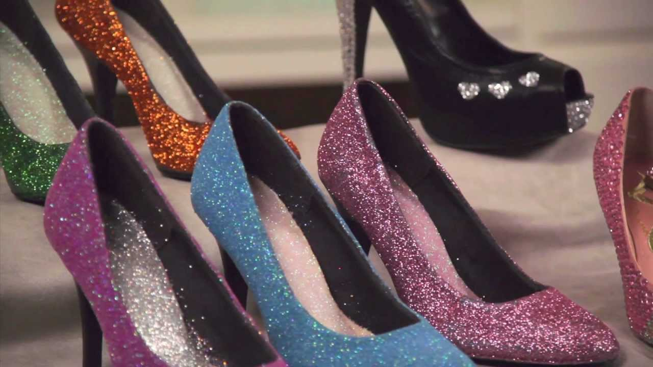 a12d563de409 Learn with JOANN  How to Embellish Shoes with Glitter