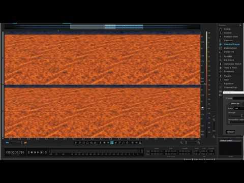 Autechre - Sonar Calling - P1-449 (Spectrum Analyzer)