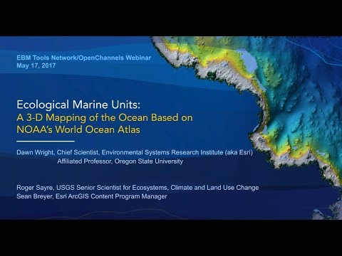 Ecological Marine Units: A 3-D Mapping of the Ocean Based on NOAA's World Ocean Atlas