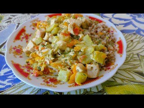 Рагу с кабачками рецепт Обалденного блюда на ужин