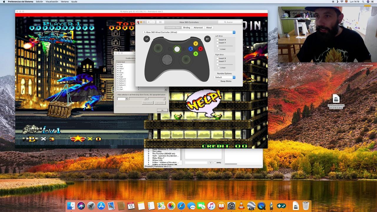 Tutorial Configuracion Stick Arcade Mac Ox Fightcade By Rodrigo Bastias