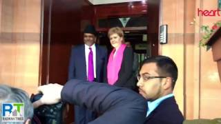 Nicola Sturgeon visits Glasgow Ahmadiyya Mosque