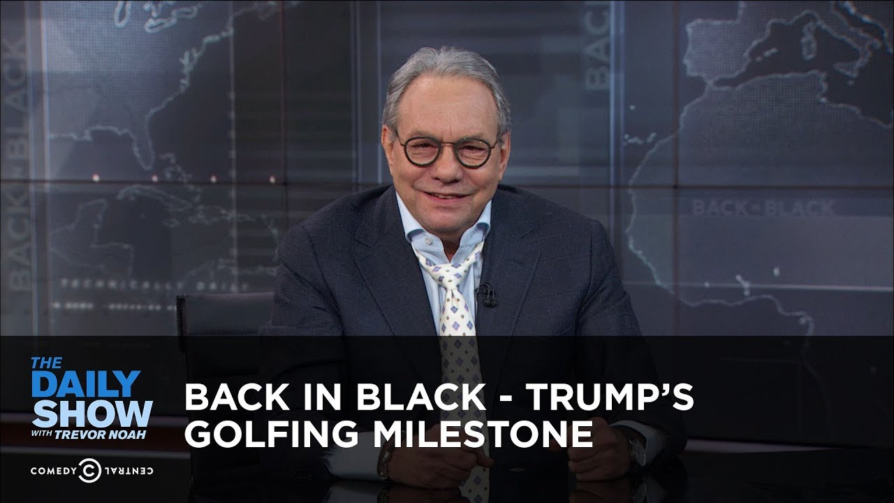 Back in Black - Trump's Golfing Milestone
