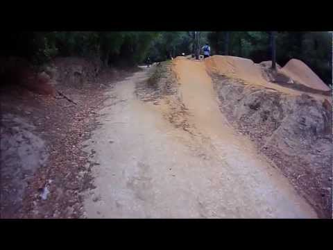 Santos Bike Trails Vortex Freeride Section - Ocala, FL - Part 03