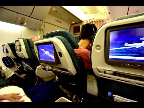Premium Economy | Cathay Pacific CX880 Hong Kong to Los Angeles Boeing 777-300ER (Review#29)