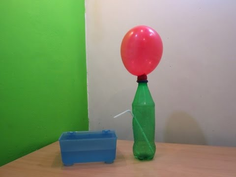 Balloon Magic (Physics Experiment) - Easy Balloon trick Tutorials