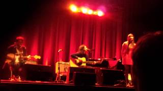Conor Oberst (with First Aid Kit) live acoustic - Make War - Munich München 2013-01-22