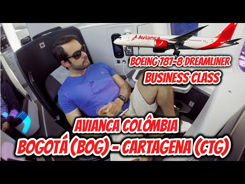 Flight Report #20: MELHOR BUSINESS CLASS entre Bogota (BOG)