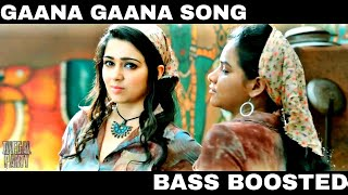 10 Endrathukulla - Gaana Gaana REMIX Video | BASS BOOSTED | Vikram, Samantha | D. Imman