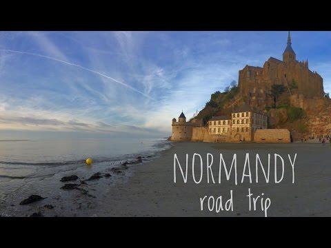 Normandy road trip 2016