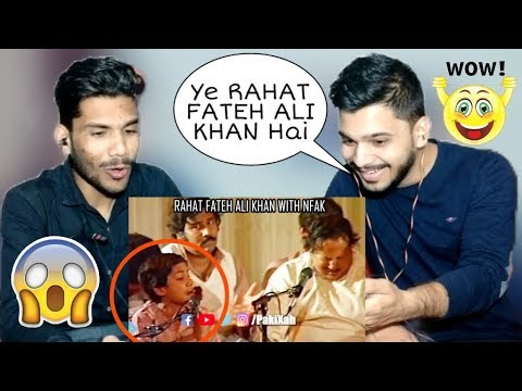 Indian Reaction On Best Of Ustad Nusrat Fateh Ali Khan - M Bros Reactions