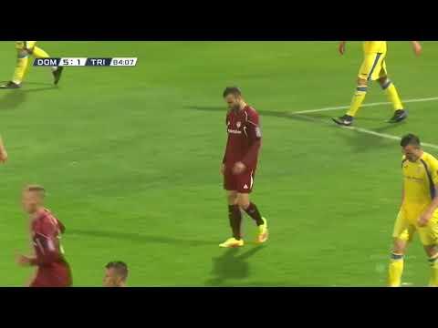 8. krog: Domžale - Triglav 6:1 ; Prva liga Telekom Slovenije 2017/18