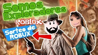 How to win ROBUX FREE in Roblox 🤑 ROBLOX EXPLORER SIMULATOR! SamyMoro and Clau and Edu gameplays