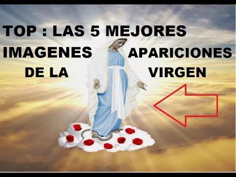 TOP 5 INCREIBLES IMAGENES DE LA VIRGEN MARIA CAPTADOS EN VIDEO