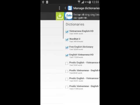 DictSharp Dictionary For Android