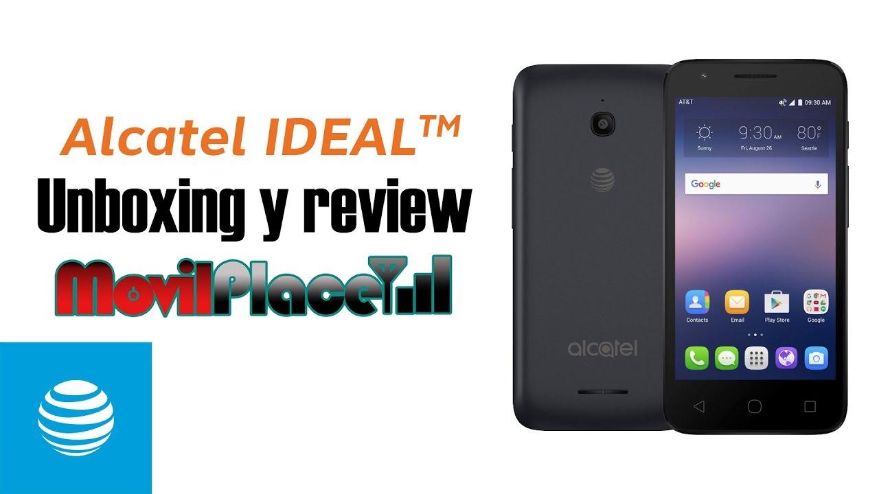 Unboxing y review corto de Alcatel Ideal 4060A de AT&T GoPhone - YouTube