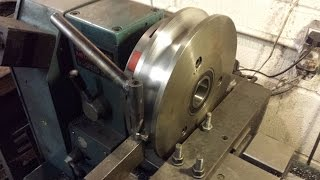 Turning a Tube Bender Die on the Lathe