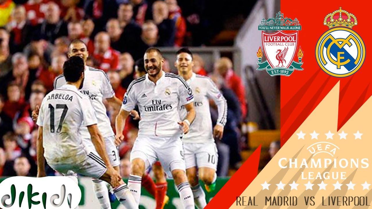 Hasil Liga Champions Liverpool vs Real Madrid 0 - 3 - YouTube