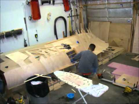 Flats Boat Build - 15 months in 2 minutes
