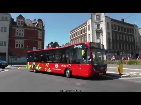 Electric Optare Metrocity EV Bus London route 312