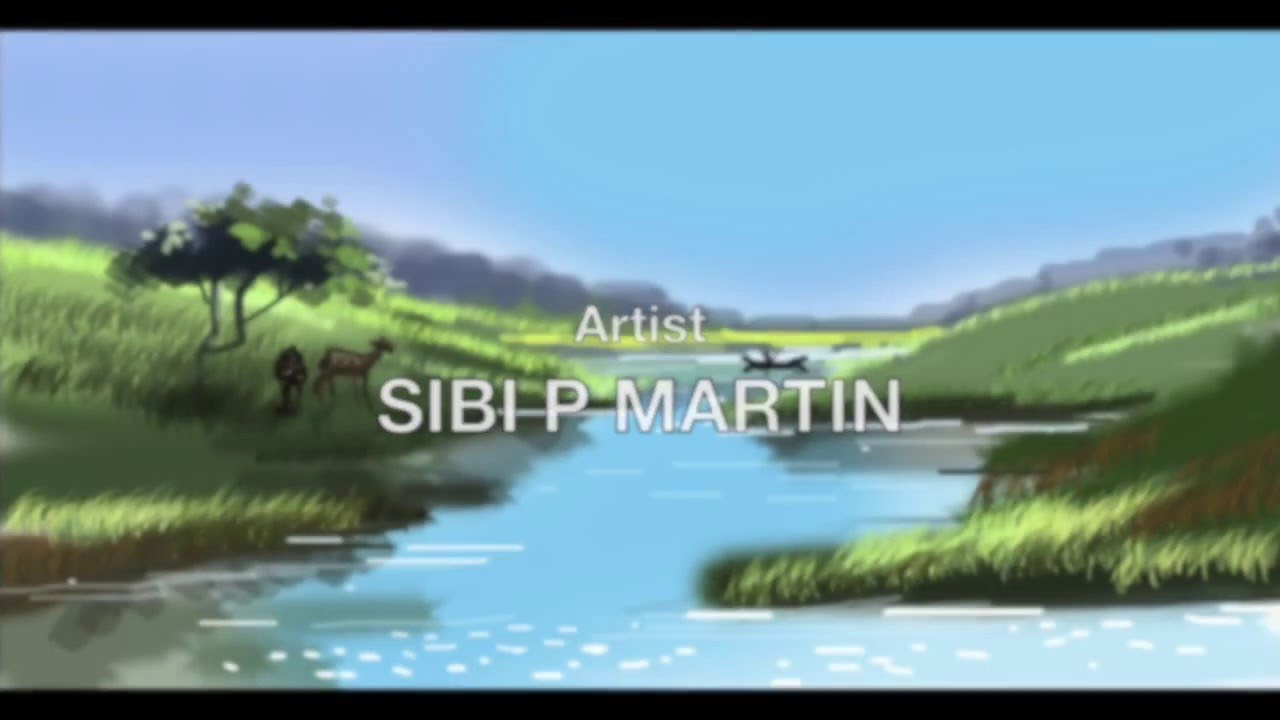 Digital painting tutorial on photoshop landscapes ep03 youtube baditri Images