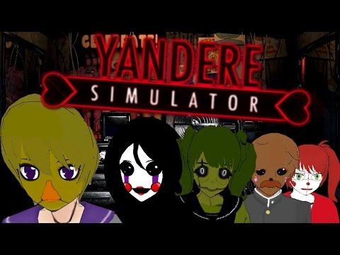 Five Nights at Yanderes (Yandere Simulator FNAF Mod)