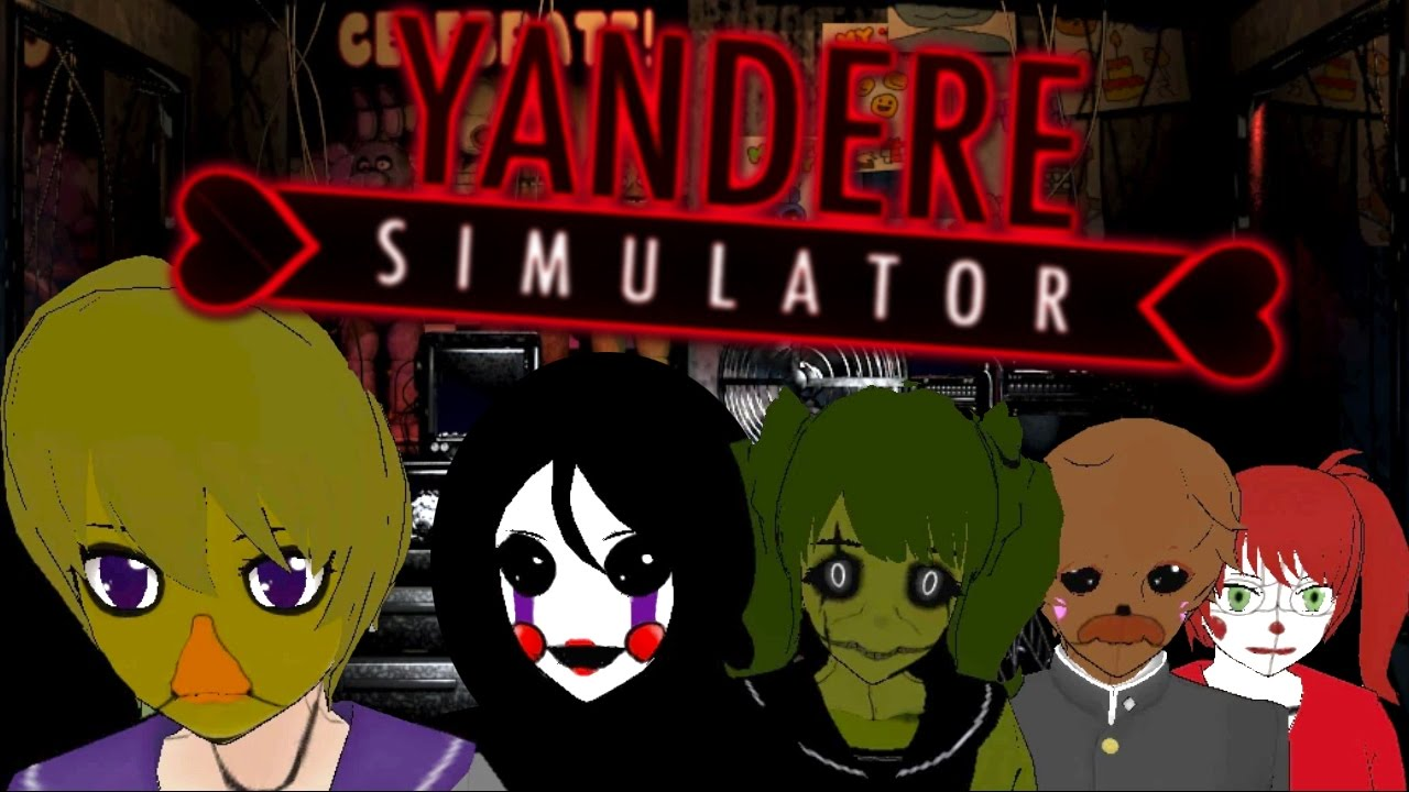 Five Nights at Yandere's (Yandere Simulator FNAF Mod)