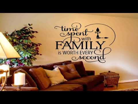Living Room Wall Decor Quotes