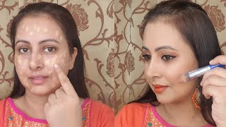 ईद/राखी मेकअप | one brand tutorial | L'Oreal | Beginners makeup hacks | Kaur Tips