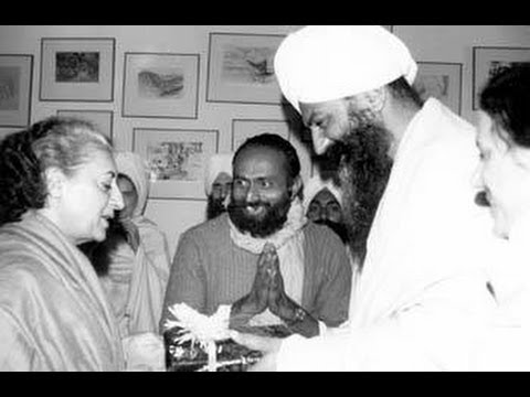 Assassination plot against Sant Bhindranwale Ji by Indira Gandhi & Yogi Bhajan uncovered!