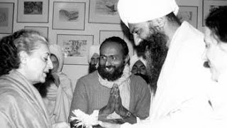 Assassination plot against Sant Bhindranwale Ji by Indira Gandhi & Yogi Bhajan uncovered!