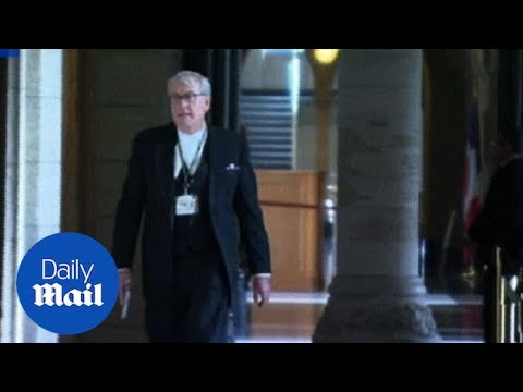 Heroic Sergeant-at-Arms Kevin Vickers Moments After Shooting - Daily Mail