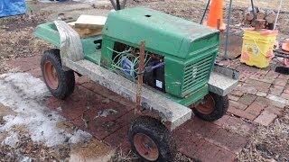 Diy Electric Lawn Tractor Part 4