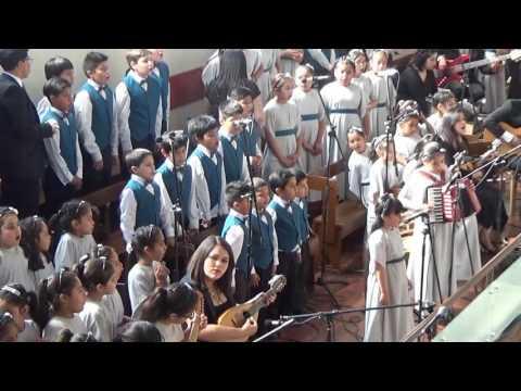 Coro Plantilla de Niños, Jotabeche 40, Diciembre 2016