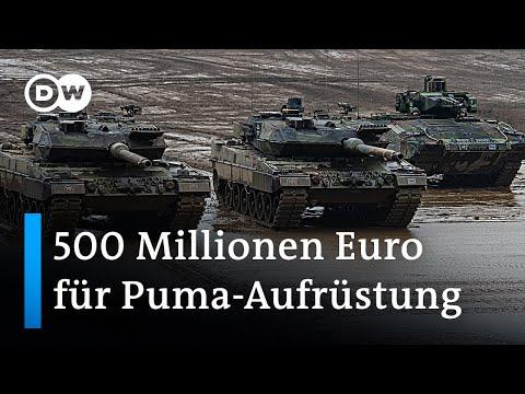 Schützenpanzer Puma - vom Vorzeigeprojekt zur Sorgenkatze   DW Nachrichten