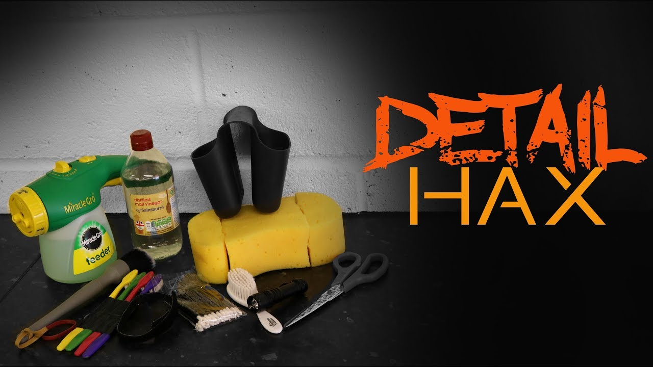 10 Fast Car Detailing Hacks Tips And Tricks Youtube