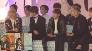 mp3cs com bts reaction to i o i melon music awards 2016