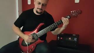 Dream Theater - Distance Over Time - Room 137 (Guitar Cover)