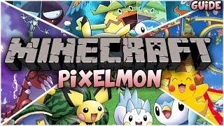 Играем на сервере с модом Pixelmon #1 Много крутых покемонов