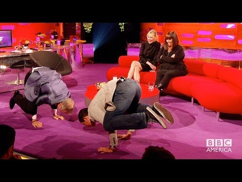 GRAHAM Does Crazy Yoga With BEAR GRYLLS - The Graham Norton Show on BBC AMERICA