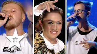 Best RAP Auditions on Romania's Got Talent | Românii au talent 2017