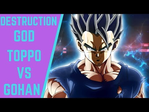 Gohan vs Toppo God of Destruction! The Fight We Should Have Gotten In The Tournament of Power