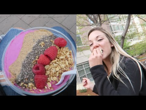 WHAT I EAT IN A DAY- BOSTON UNIVERSITY!
