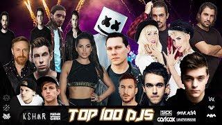 TOP 100 POSIBLES DJs de la DJMAG 2018
