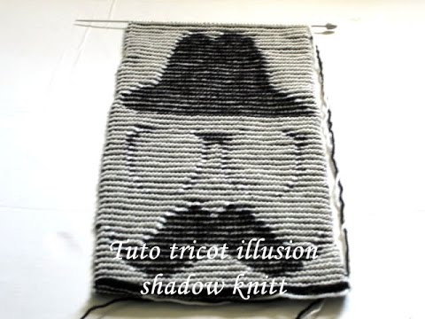 tuto tricot illusion