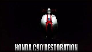 The Grand Finale! -Part 6 ( Honda C90 FULL RESTORATION )