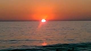 Puesta de sol en Acapulco...