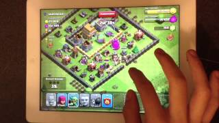 Let's Play Clash Of Clans Ep. #6 -- Town Hall 4 Final Upgrades