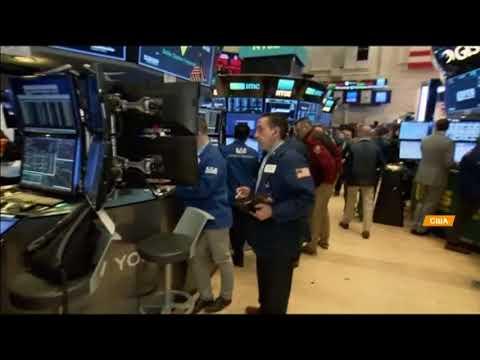 На фондовой бирже США резкий обвал