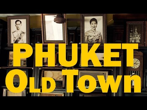 PHUKET CITY GUIDE | THAI OLD TOWN VISIT 4K